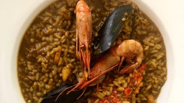 Arroz caldoso de Cabra  - La taverna del peix fregit, Palafrugell
