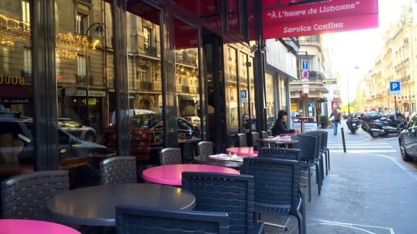 terrasse - Le Bistro de Longchamp, Paris