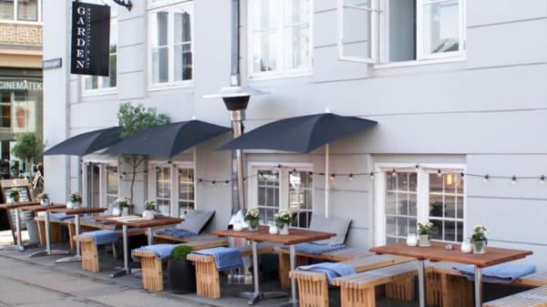 Ingång - Garden Restaurant & Bar, København