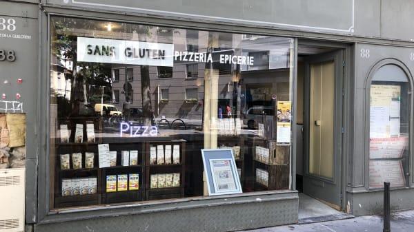 Entrée - Sans Gluten Pizza Epicerie, Lyon