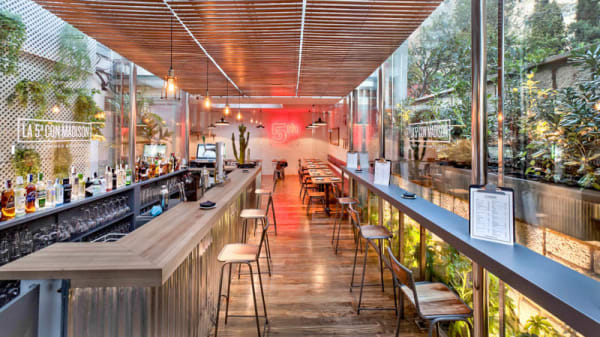 Vista terraza - La 5ª con Madison, Madrid