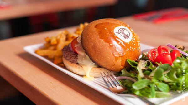 burger - Burger & Wine, Lyon
