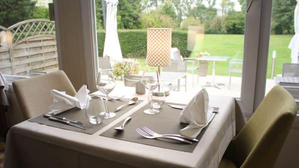 table dressée - Le Manoir de Gavrelle, Gavrelle