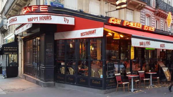 Devanture - Au Petit Duc, Paris