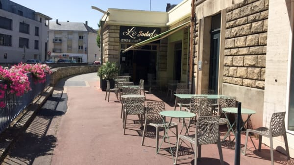 Terrasse - Le Joda'fa, Évreux