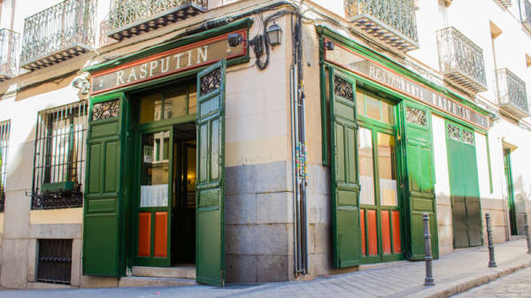 Fachada - Rasputín, Madrid