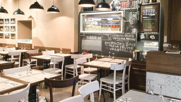 sala - Pizza in Trevi, Rome