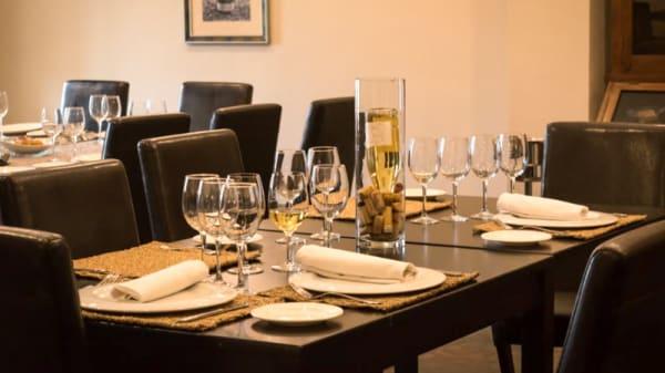Sala - Restaurante Martínez Paiva, Almendralejo