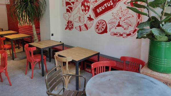 Vista sala  - Can Pizza - Poble Nou, Barcelona