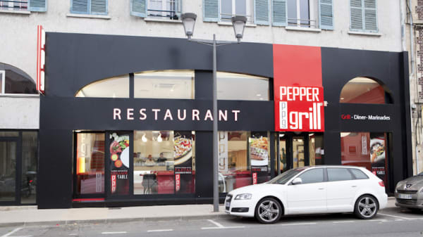 Devanture - Pepper Grill, Saint-Ouen-l'Aumône