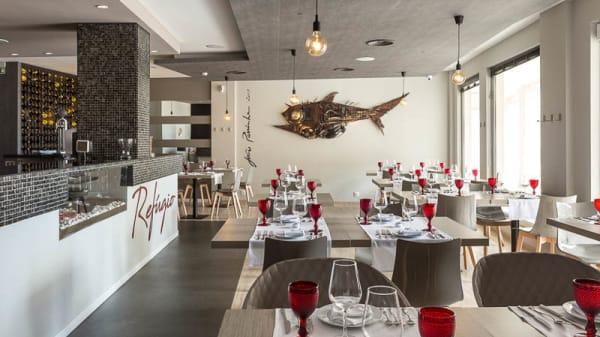 sala do restaurante - Restaurante Refúgio, Algés