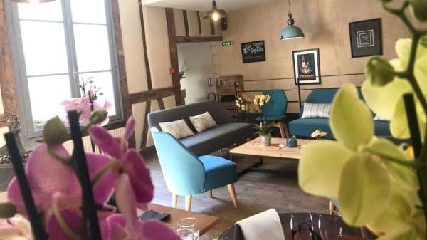 Salon étage - La Cuisine au Beurre, Poitiers