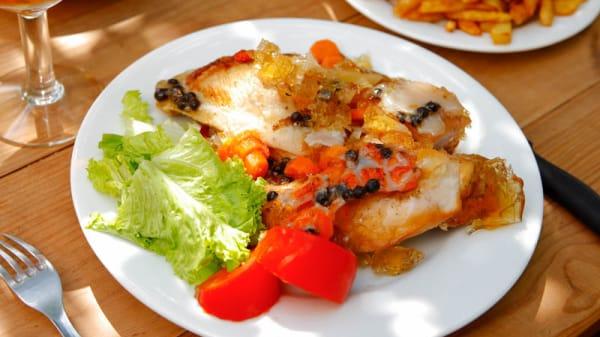 Suggestion de plat - Estaminet Les Damoiselles, Nieppe