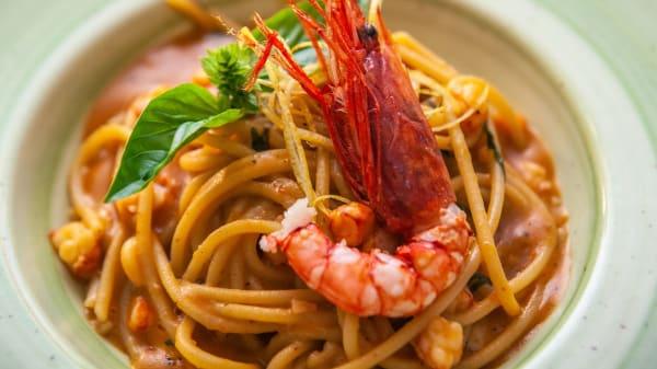 Spaghetti Gambero - Enosteria Sicula, Palermo