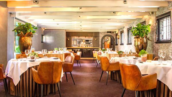 Het restaurant - Restaurant het Kasteel van Rhoon, Rhoon