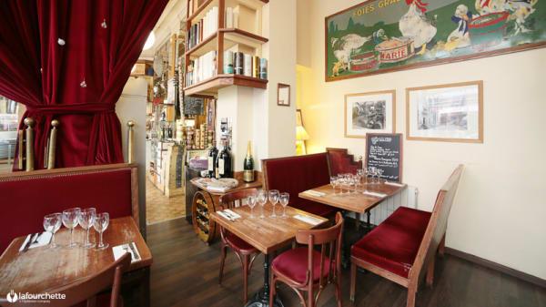 Vue de la salle - Comptoir de la Gastronomie, Paris