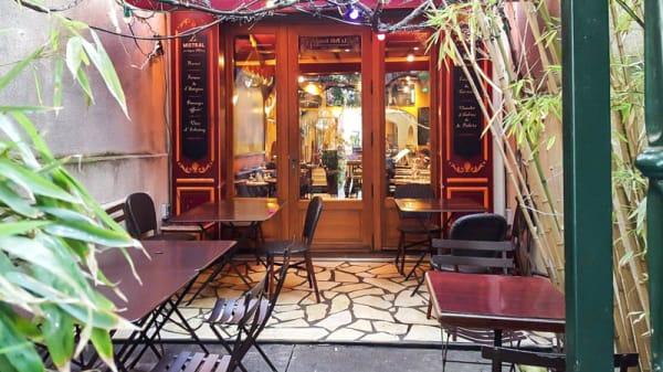 Terrasse - Le Mistral, Paris
