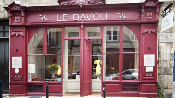 entrée - Le Davoli, Bordeaux