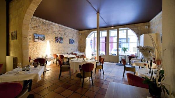 vue de la salle - Le Davoli, Bordeaux