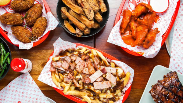 Share plates - Big Roddy's Rippin' Rib Shack - Fortitude Valley, Fortitude Valley (QLD)