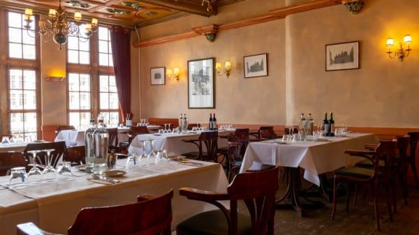 Salle du restaurant - La Rose Blanche, Bruxelles