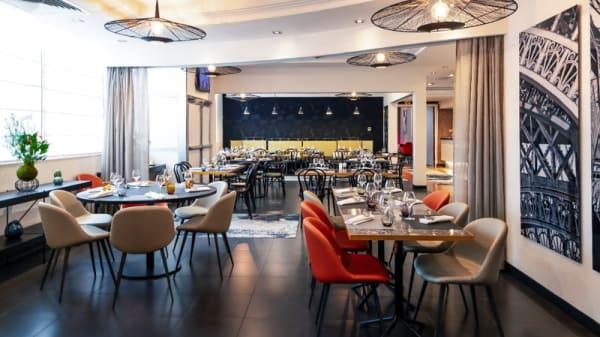 Salle du restaurant - Novotel Café - Novotel Paris 17, Paris