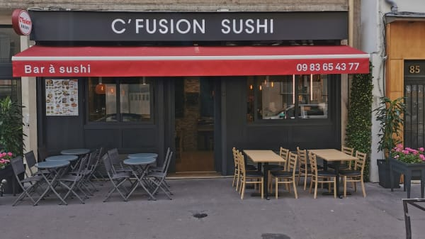C'Fusion Sushi, Paris