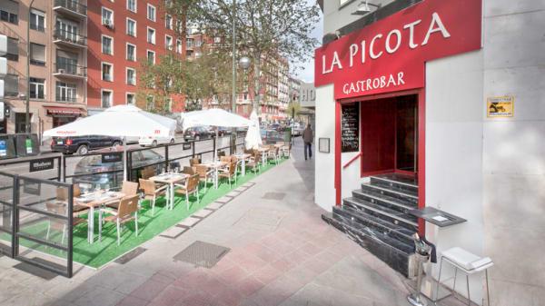 entrada - La Picota, Madrid