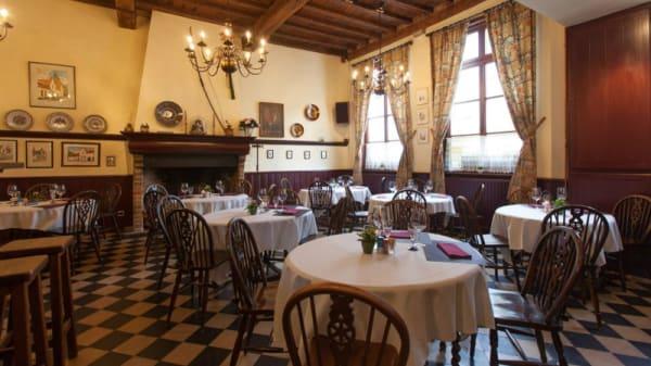Salle du restaurant - Oud Handbogenhof, Brugge