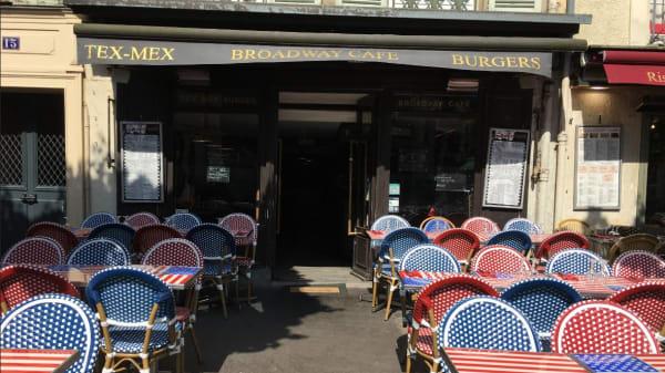 terrasse - Broadway café, Versailles