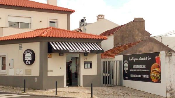 Fachada - Hamburgueria do Chef - Linhó, Sintra
