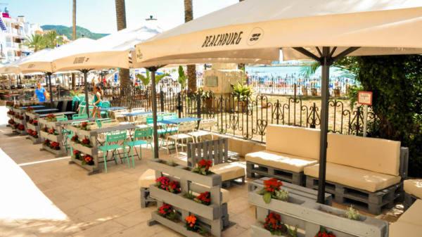 Vista terraza - Beachburg, Sitges