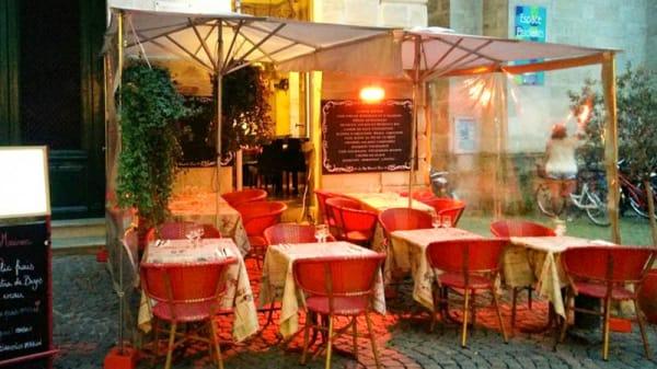 terrasse - La Petite Maison de Pierre, Bordeaux