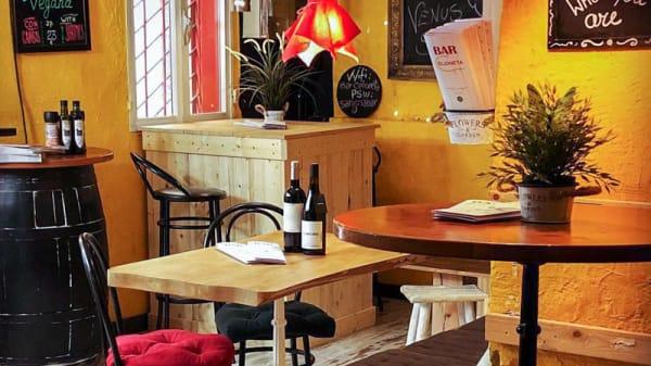 Vista del interior - BarCeloneta Sangria Bar, Barcelona