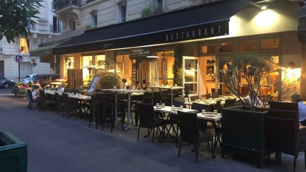 terrasse - La Cabane Gourmande, Paris