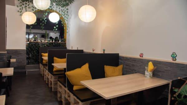 vue de la salle - Muto Café, Paris