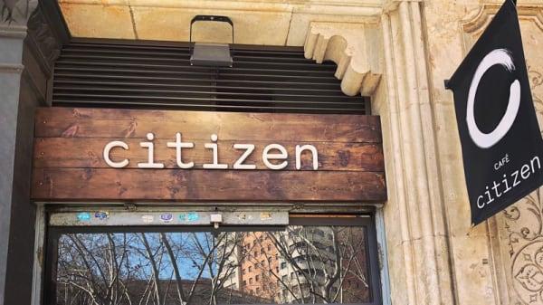 Entrada - Citizen Café, Barcelona