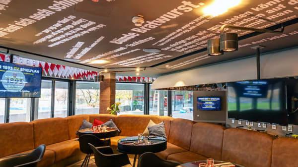 Zimmeransicht - VfB Clubrestaurant by braun, Stuttgart