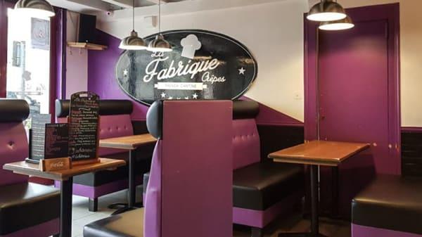 Salle du restaurant - La Fabrique, Blois