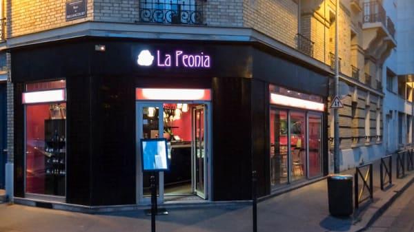 Devanture - La Peonia, Boulogne-Billancourt