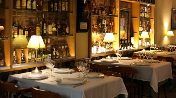 Sala del restaurante - El boliche del gordo Cabrera, Barcelona