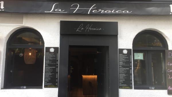 La Heroica, Madrid