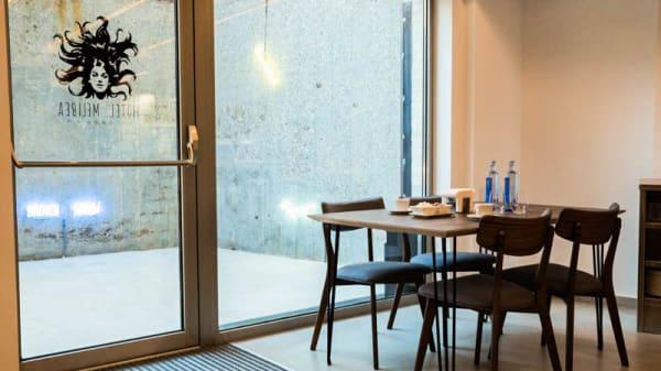 Vista de la sala - Cafe & Co. Hotel Melibea, Salamanca