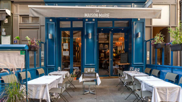 Entrée - La Maison Marie, Lyon