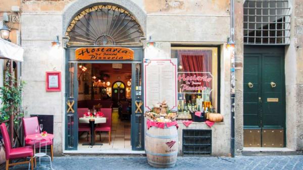 veduta locale - Hostaria de' Pastini, Rome