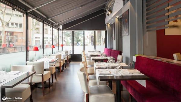 Vue de la salle - La Table 101, Lyon