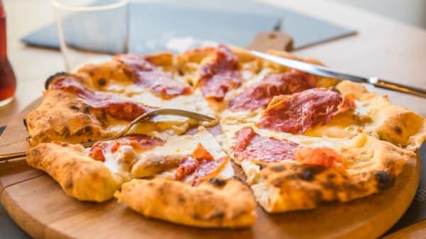 Pizza Salamino - Il Barba Pizzeria, Bergamo