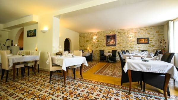 salle du restaurant - Le Relais du Vivarais, Viviers