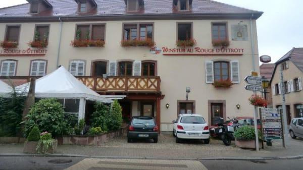 Restaurant - Au Rouge d' Ottrott, Ottrott
