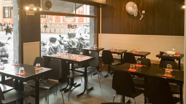 Sala del restaurante - Samurai Ramen, Barcelona